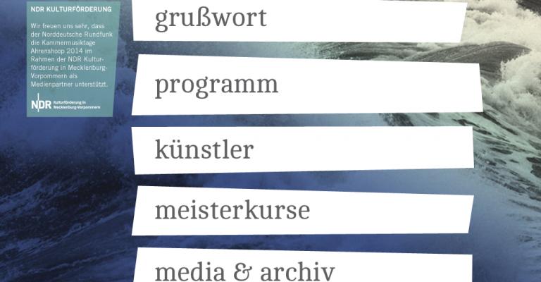 Kammermusiktage Ahrenshoop 2014