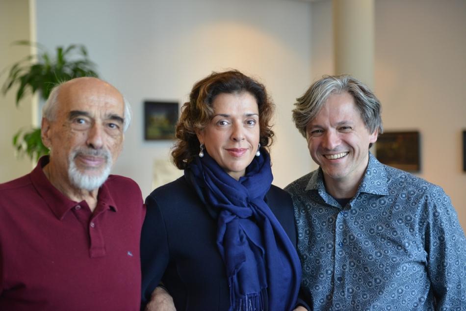 ... mit Elena Bashkirova und Dimitri Bashkirov