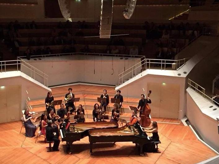 Klavierduo Bálint-Niculescu, Berliner Camerata, Kammermusiksaal, Philharmonie Berlin
