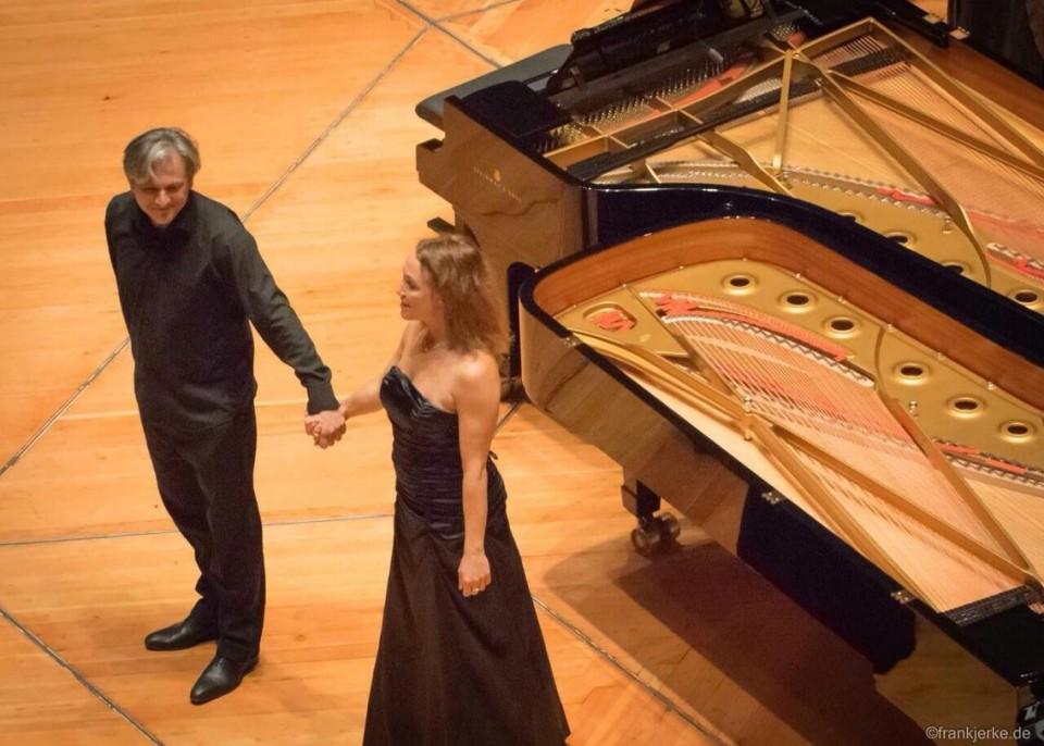 mit Zsuzsa Bálint Philharmonie Berlin